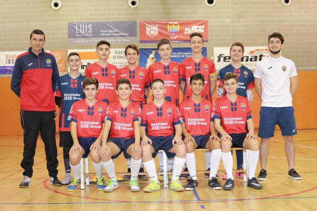 Equips Cadet B Temporada 2018-19