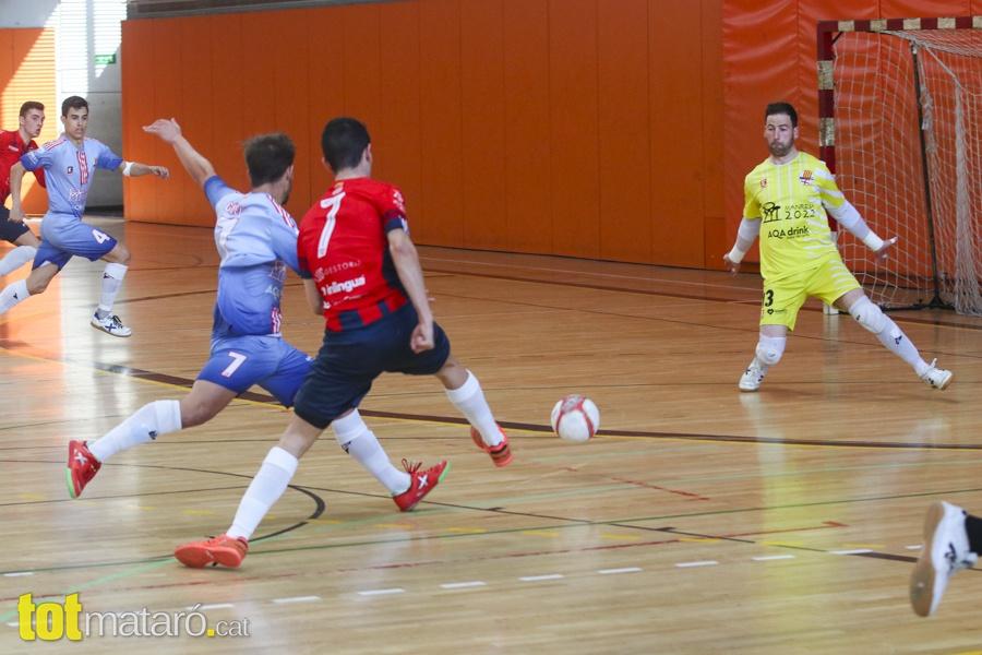 El Futsal Aliança Mataró Supera 6-2 El Vigent Campió