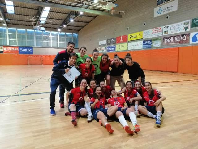 El Futsal Aliança Mataró Femení Acaba La Lliga Amb Victòria